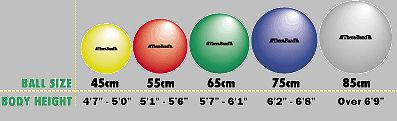 Thera band pro series exercise balls e current com