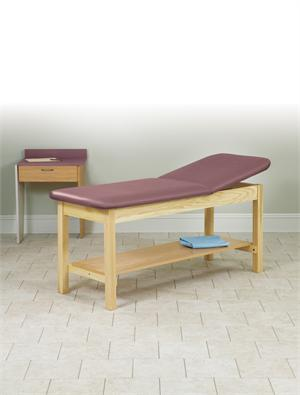 Hardwood Treatment Table with Shelf
