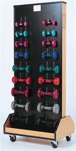 Cuff Weight/Dumbbell Rack